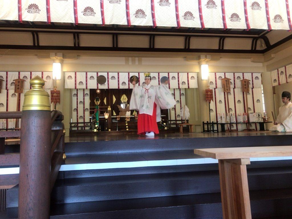湊川神社 安産祈願 祈祷